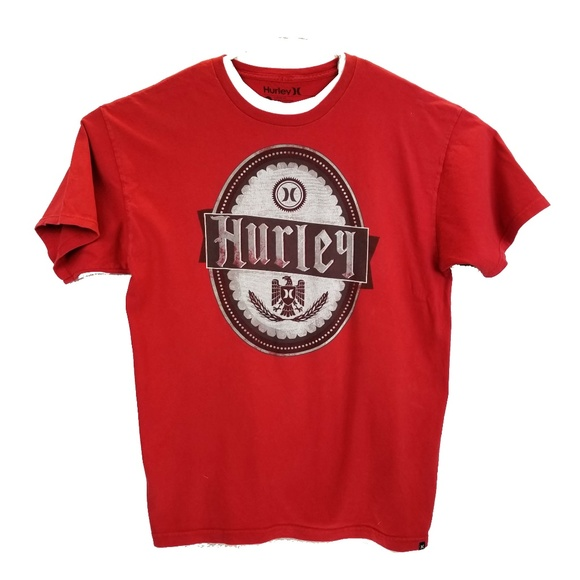 Hurley Other - Hurley Graphic Logo T Shirt Men's Size XL Red